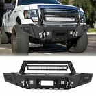 Steel Front Rear Bumper Guard W Led Lights D-rings For Ford F150 09-14