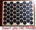 50 Golf Ball Marker Display Frame For Poker Chip Size Fits Chips Up To 40mm