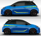 Car Front Rear Decal Fit Opel Adam Rally Sticker