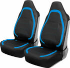 Leather Cloth Front Seat Covers For Car Truck Van Suv Universal Fit