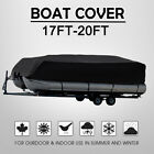 Pontoon Boat Cover Waterproof Heavy Duty Fit 17ft To 24ft Long Beam Up To 102