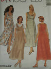 Uncirculated Mccalls 8780-ladies Fitted Pullover Dress-jumper Pattern 8-14 Ff