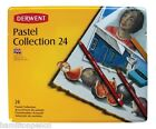 Derwent Pastel Collection Tin Of Soft Smooth Mixed Media - Various Sizes