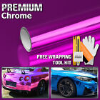 9 Colors Chrome Vinyl Film Wrap Sticker Decal Air Release Bubble Free 3 Layers