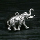Lot Vintage Tibet Silver Peacock Elephant Animal Pendant Charms Jewelry Findings