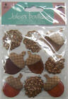 U Choose Assorted Jolees Fall 3d Stickers Autumn Scarecrow Leaves Harvest Pie