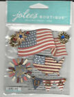 U Choose Assorted Jolees Patriotic 3d Stickers Fourth Of July 4th America Use