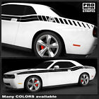 Dodge Challenger 2008-2019 Double Stripes With Strobe Side Decals Choose Color