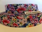 Grosgrain Ribbon Bright Colorful Gorgeous Flowers Floral Field Seeds 78