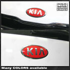 For Kia Soul Front Rear Emblem Accent Overlay Decals 2012 2013 2014 2015 2016