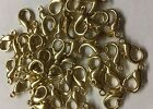 14mm Gold Lobster Clasps Claw Hooks Jewelry Findings Diy Usa Seller