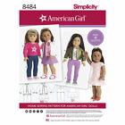 Simplicity Sewing Pattern 18 American Girl Doll Clothes - 14 To Choose From