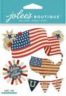 U Choose Jolees 4th Of July Stickers Stars Fireworks America Patriotic Flag Usa