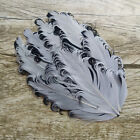 Wholesale New 1pcs Multicolor Curled Feather Feather Padded Headband Decoration