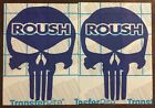 Roush Punisher Sticker Decal Mustang Cobra F-150 17 Colors To Choose From