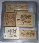 Stampin Up Stamp Sets Pick One 5 Each