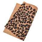 A4 Sheet Vintage Soft Cork Fabric Sewing Synthetic Leather Diy Material Craft