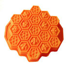 Bee Honeycomb Cake Mold Mould Soap Mold Silicone Flexible Chocolate Mold Durable