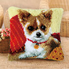 Latch Hook Kit For Kids Embroidery Horserabbitdog Pillowcase Cushion Cover Diy