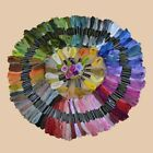 Lot 150 Multi Colors Cross Stitch Cotton Embroidery Thread Floss Sewing Skeins
