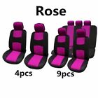 49pcsset Universal Car Seat Cover Auto Front Seat Mat Pad Breathable Protector
