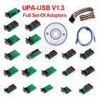 Upa-usb V1.3 Ecu Programmer Chip Tunning With Full Adaptors With Nec Function