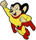 Mighty Mouse Vintage Style Decal Sticker 3m Usa Truck Vehicle Window Superhero