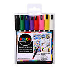 Uni Posca Marker Ultra Fine Size 1mr Paint Pens Various Sets With Free Wallet