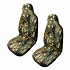 Universal Auto Front Seat Cover Car Camo Bucket Camouflage Chair Protector Mats