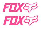Fox-moto-racing Vinyl Decal Stickers Cars Atvs Motorcycles 2 For 1