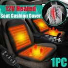 12v Universal Car Seat Heated Cover Cushion Heater Hot Pad Cover Warmer Us Us