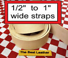 Short 12 To 1 Vegetable Tanned Tooling Leather Belt Blanks Straps Select .