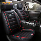 9pcs Luxury Leather Car Seat Cover Full Set Interior Cushion Protector Universal