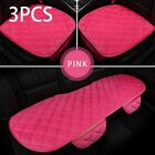 Car Seat Cover Pad Protective Mat Warm Plush Front Rear Styling Auto Accessories