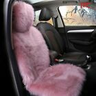 Front Seat Cover Car Accessories Comfortable Winter Wool Plush Cushion Protector