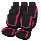 Universal Fit Breathable Car 5 Seat Covers Full Set Front Rear Cushion Protector