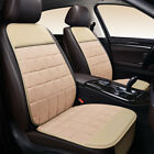 Universal Leather Linen Car Seat Cover Front Rear Backrest Protector Cushion Mat
