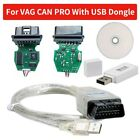 Vcp Scanner Vag Can Pro 5.5.1busudsk-line Odb2 Diagnostic Tool With Usb Dongle