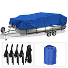 17-24ft Waterproof Trailerable Pontoon Boat Cover Waterproof All Weather Protect