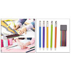 Premium Colorful Tailor Chalk Pencil Sewing Refills Leather Metal Marker Pen