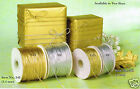 1mm 1.5mm Metallic Gift Tag Cordnon-elastic Goldsilver Crafts Beading String