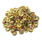 New Acrylic Spacer Loose Beads 8 Mm 50 Pcs Making Jewelry Wholesale Lot Grade
