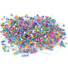 800x Round Pearl Head Dressmaking Pins Weddings Corsage Florists Sewing Pin