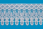 Unotrim 5 Venice Victorian Giupure Lace Ribbon Trim Red Gray Green Blue By Yard