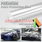 Clear Body Paint Protection Bra Film Vinyl Wrap Invisible Scratches Shield