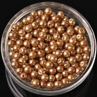 4mm6mm8mm Round Pearl Glass Diy Loose Spacer Seed Beads Wholesale Lot