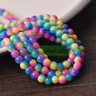 Wholesale Bulk Charms 6mm8mm10mm12mm Round Glass Loose Spacer Beads Findings
