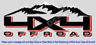 4x4 Snow Capped Mountains Truck Bed Side Decal Fits All Chevy 1500 2500 3500