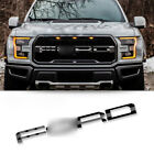 For 2017 Ford Raptor Svt F150 Grill Letter Outlines Vinyl Front Stickers Decals