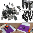 Various Leather Craft Tools Punch Stitching Stamp Leather Working Tool Kit Metal